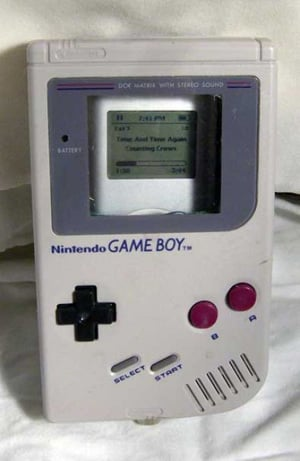 Get Your Hands On A Vintage Gameboy iPod Case