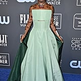 Billy Porter's Butterfly Tattoos at Critics' Choice Awards