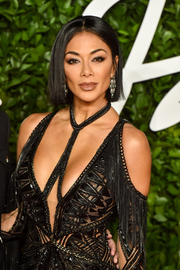 Nicole Scherzinger Blunt Bob at British Fashion Awards 2019