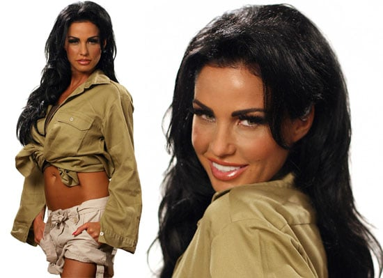 Photos of Katie Price aka Jordan Going Into the Jungle For I'm A Celebrity Get Me Out of Here