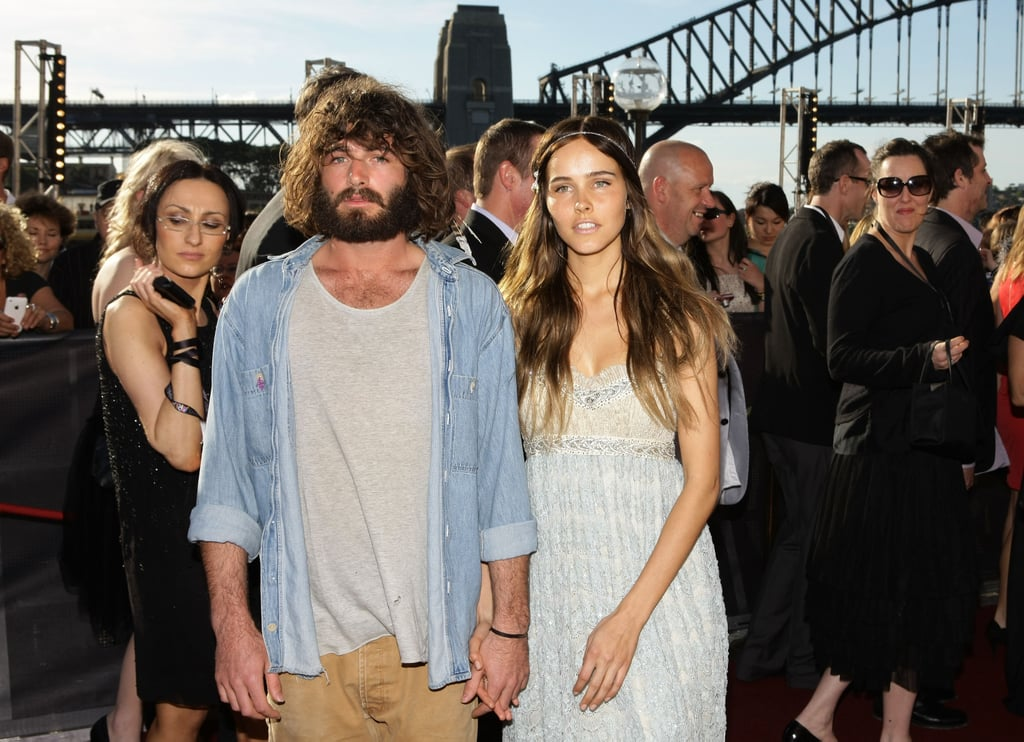 Day dream lovers, Isabel Lucas and Angus Stone.