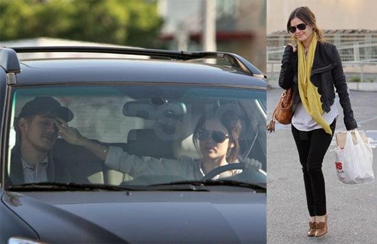 Rachel Bilson And Hayden Christensen in LA