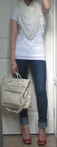 Look of the Day: Ivory and White