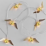Harry Potter Golden Snitch String Lights