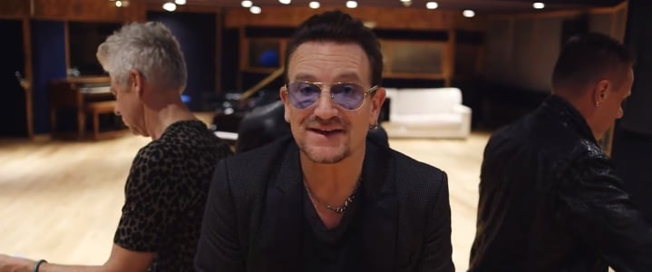 Bono Apologies for U2 iTunes Download