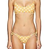 Nicole Polka Dot String Bikini