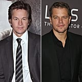 Mark Wahlberg and Matt Damon