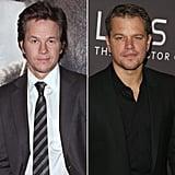 Mark Wahlberg and Matt Damon