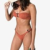 Hunza G Gloria Crinkle Bandeau Bikini
