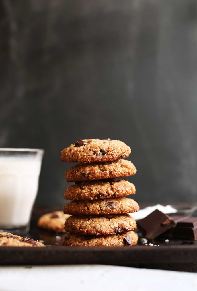 The Best Almond Meal Chocolate Chip Cookies Vegan Christmas