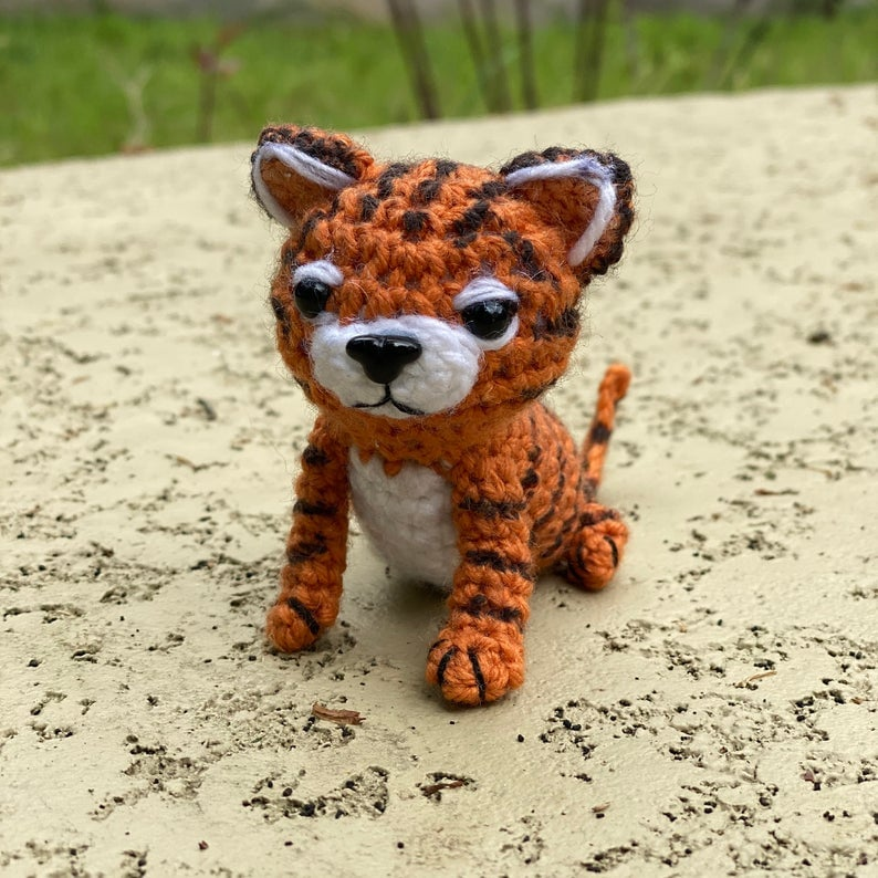 Image result for Free Crochet Amigurumi tiger Pattern | Fun ... | 794x794