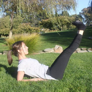 Ab Exercise That Won't Hurt Your Neck