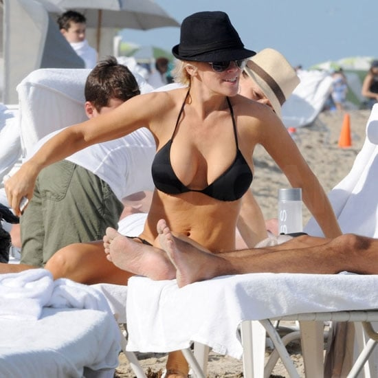 Pictures of Jenny McCarthy in a Bikini in Miami