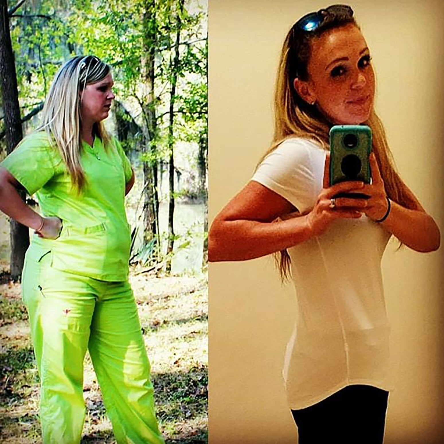 50 Pound Weight Loss Transformations Popsugar Fitness
