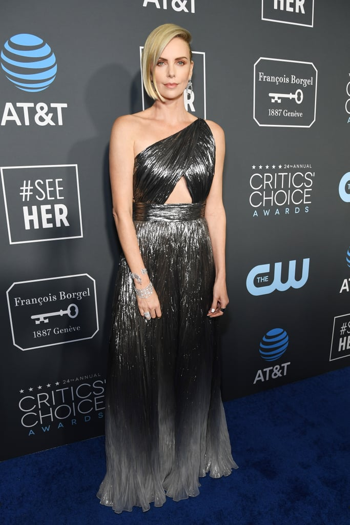 Charlize Theron at the 2019 Critics' Choice Awards