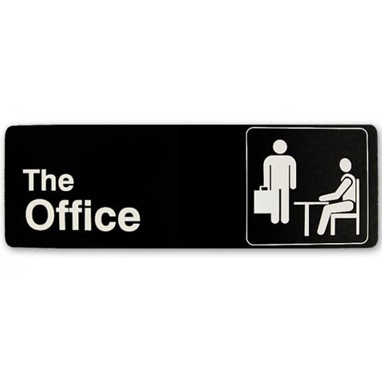 The Office Sign ($35)