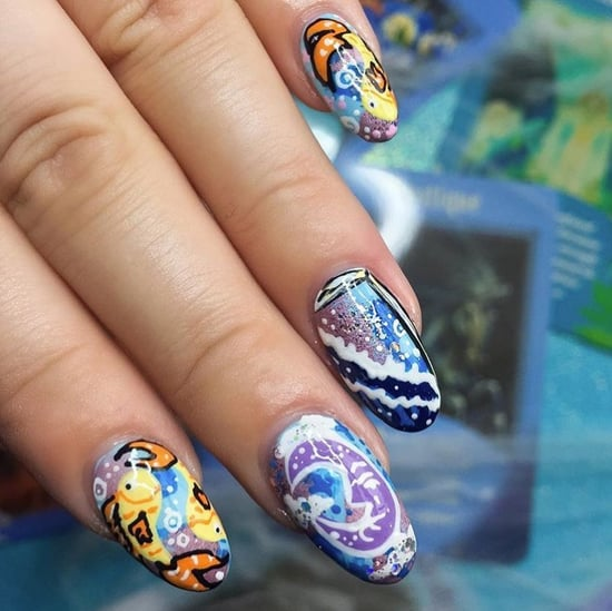Tarot Card Nail Art