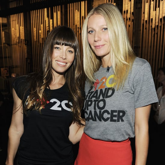 Celebrities at Stand Up to Cancer 2012