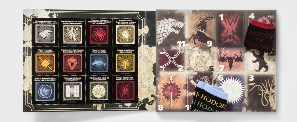 Game of Thrones Sock Advent Calendar at Target 2018
