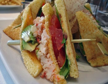 Lobster Club Sandwich