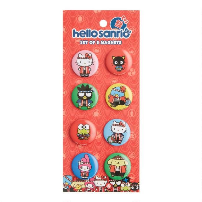 Hello Kitty Omatsuri Magnets