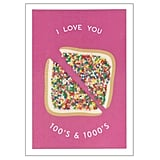 Fairy Bread Love Card, $5.95