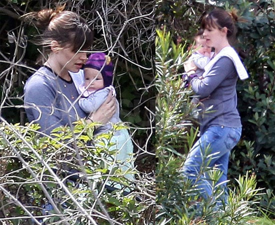 Jen and Baby Seraphina