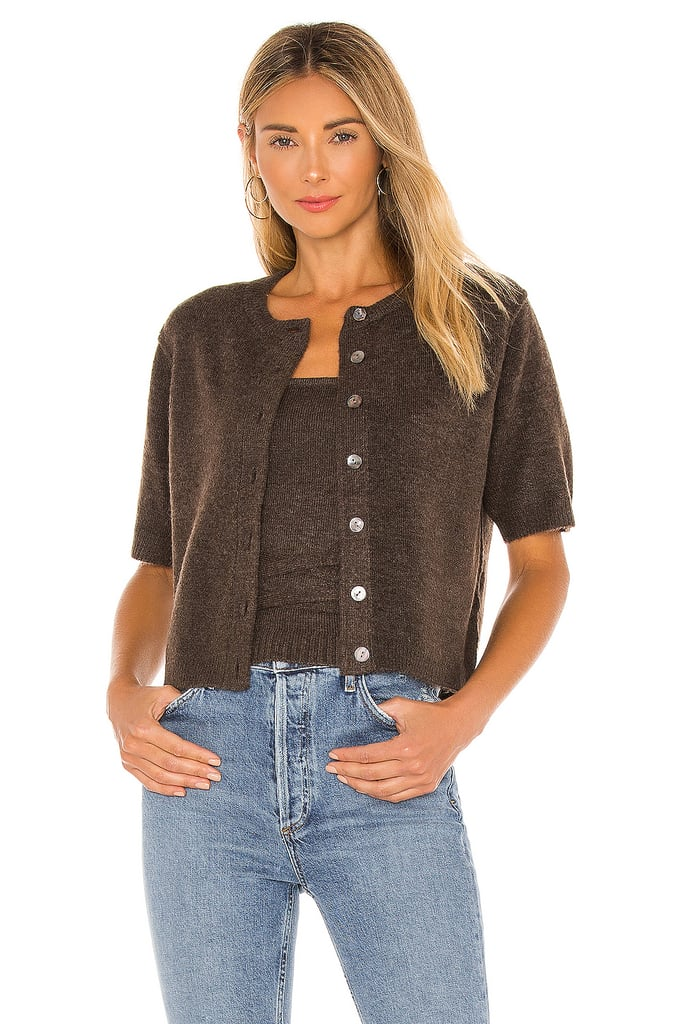 Line & Dot Emily Blouse and Megan Wrap Sweater Top