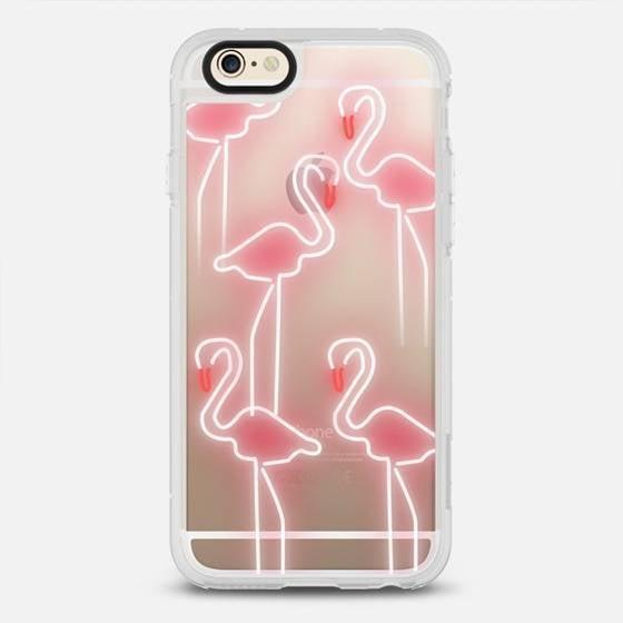Neon Flamingos iPhone Case ($40)