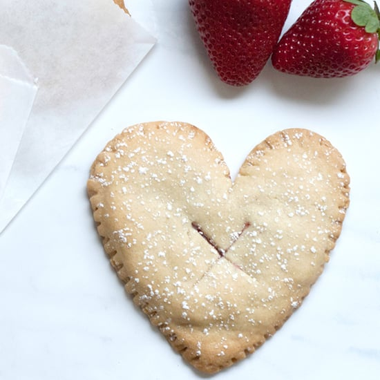 Heart Hand Pies For Valentine's Day