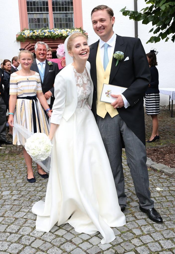 Prince Maximilian of Sayn-Wittgenstein-Berleburg and Franziska Balzer