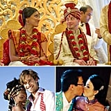 Around the World in 10 Weddings A wedding brings together two people with their own unique cultural backgrounds, and the big day is made even more special when it incorporates these two worlds. Whether you're taking into account religious beliefs or traditions from your home country, here are 10 weddings to inspire you with their cultural diversity. From Hawaii to India to our own backyard, see the many ways a wedding can envelop where you and yours have come from.