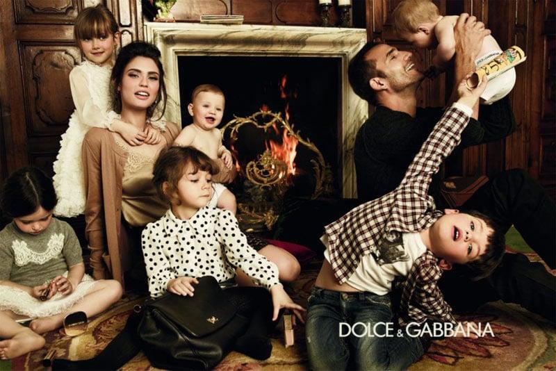 We've never seen a better-dressed set of kids for Dolce & Gabbana's children's line.