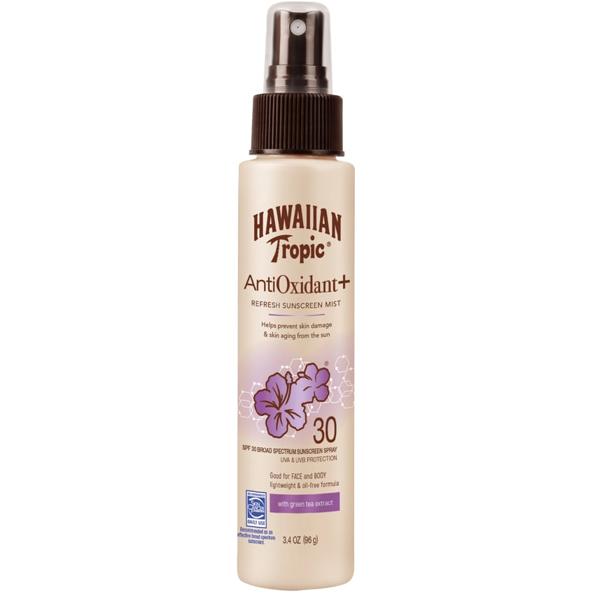 Hawaiian Tropic Antioxidant Plus Refresh Sunscreen Mist