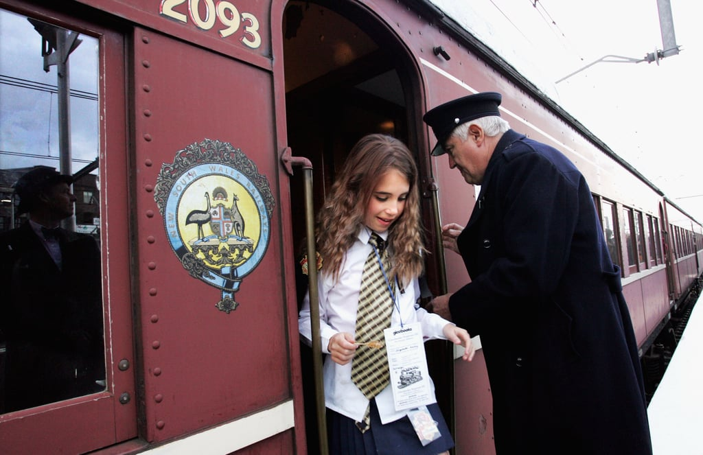 When Lucky Fans in Australia Boarded a Train to a Secret Location For the Unveiling of Book Seven