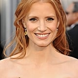 Jessica Chastain wore $2 million of diamonds to the Oscars.