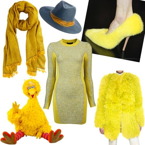 Big Bird in Fashion