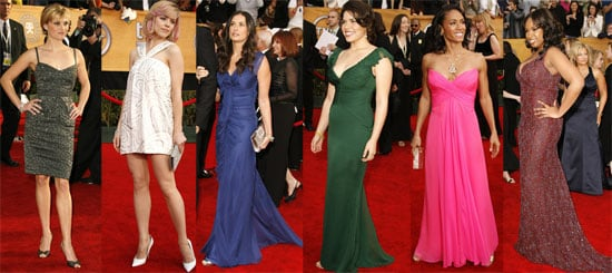 The Ladies Arrive to the SAG Awards