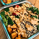 Sweet Potato, Chickpea, and Broccoli Buddha Bowl