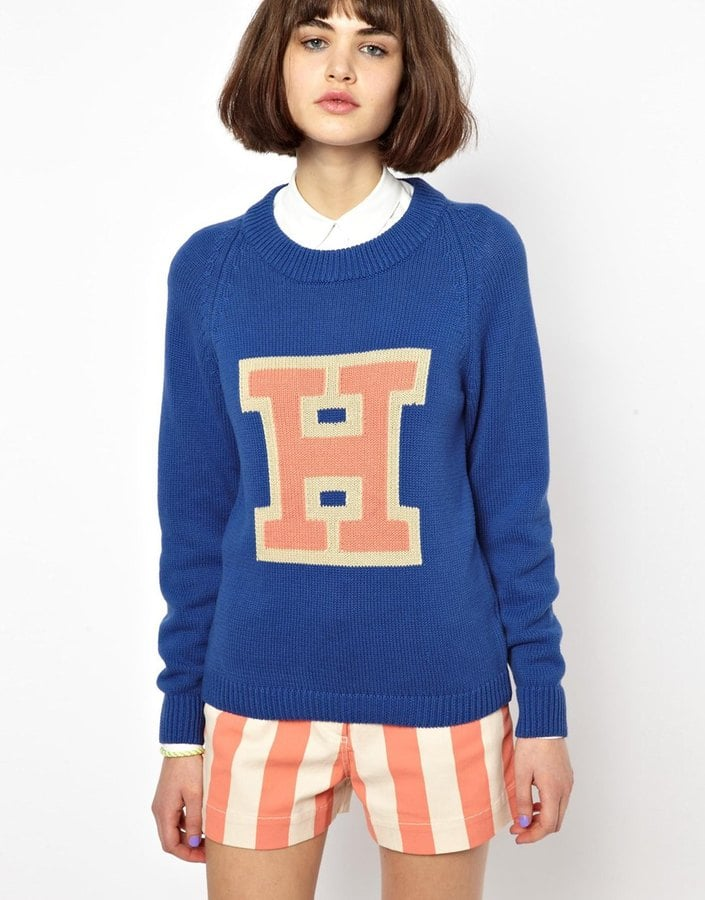 House of Holland Initial Sweater