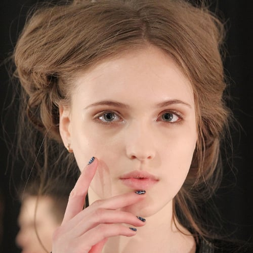 ICB by Prabal Gurung Fall 2014 Hair and Makeup | Runway