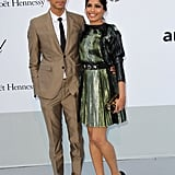 Dev Patel and Freida Pinto in 2011