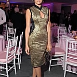 Camilla Belle attended the premiere party for  The Five Year Engagement.