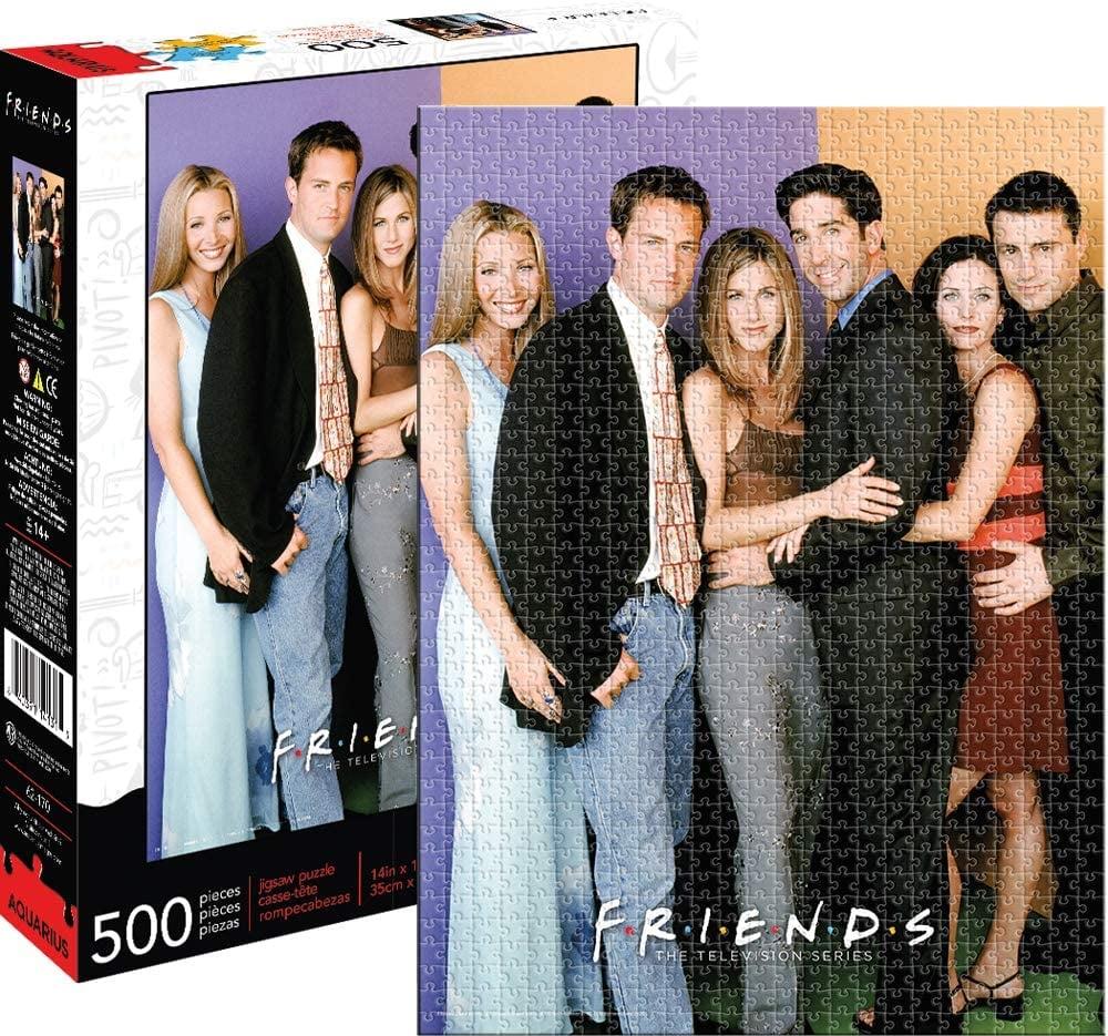 Friends Cast 500pc Puzzle