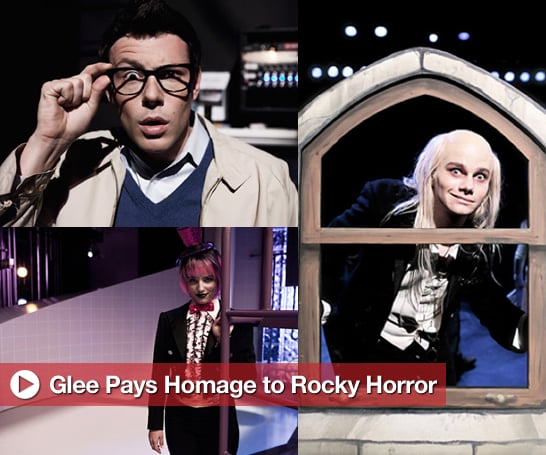 Sugar Shout Out: Glee Rocks Their Rocky Horror Picture Show