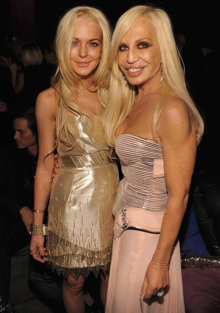 Lindsay Lohan, Donatella Versace
