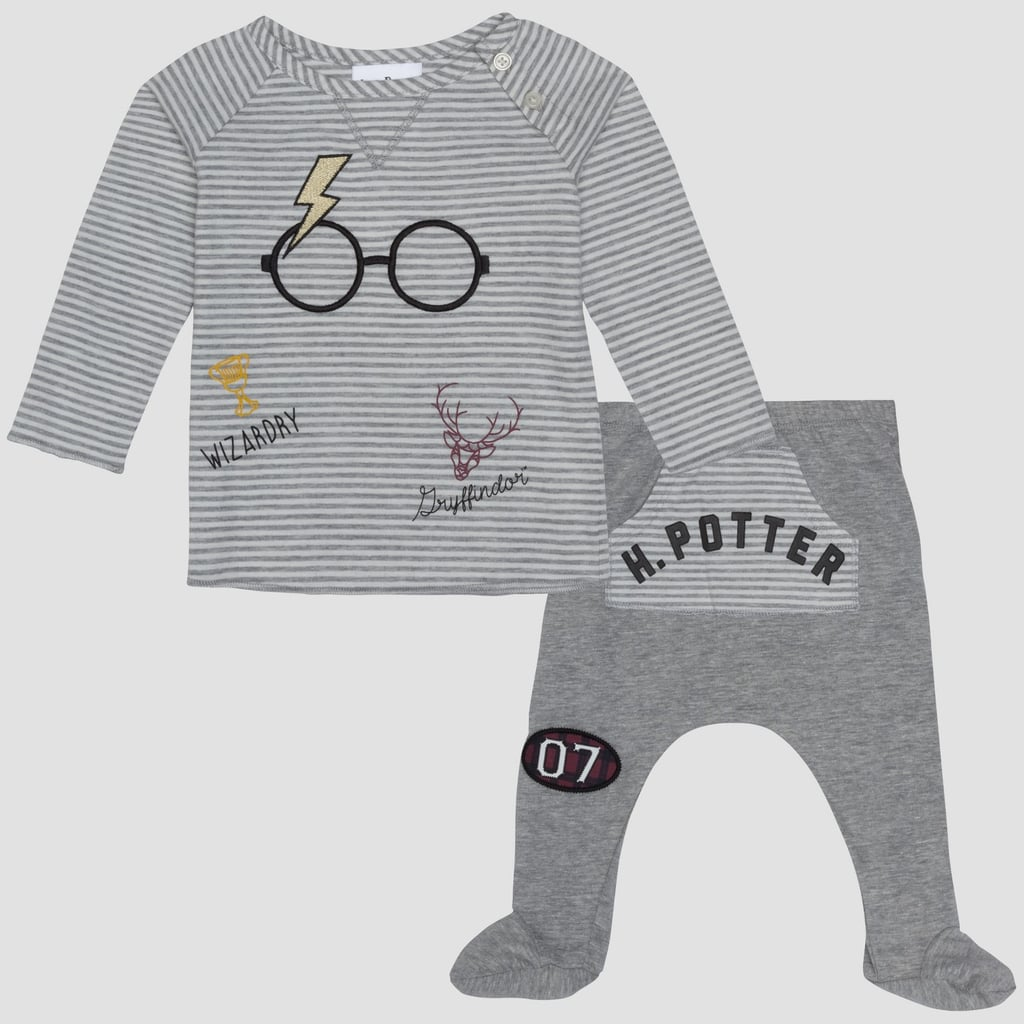 9af145581ea4a1 Baby Harry Potter Long-Sleeve T-Shirt and Footed Joggers | Harry ...