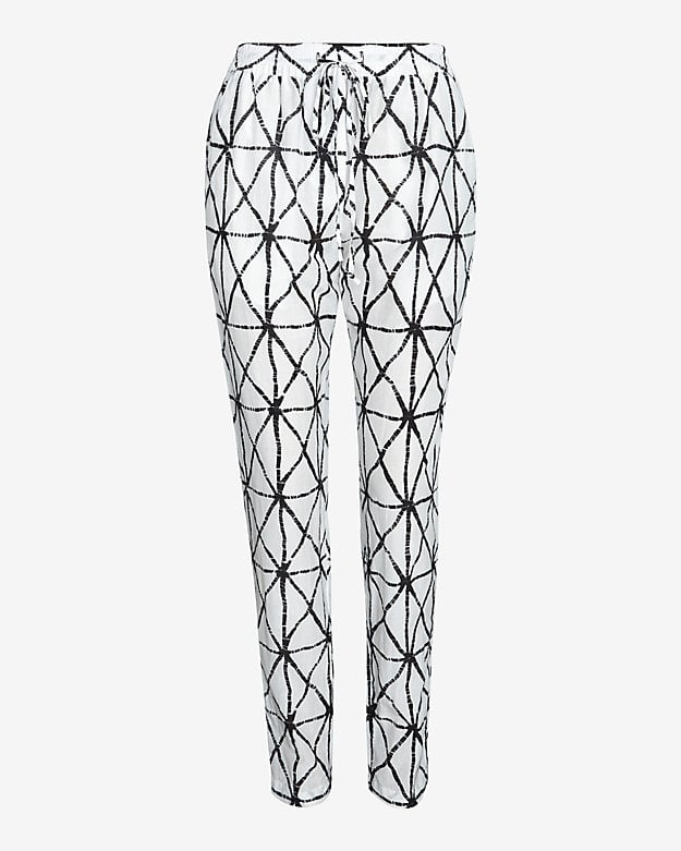 A.L.C. Jones Drawstring Printed Pants