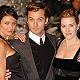 With Cameron Diaz and Jude Law