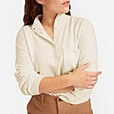 Everlane The ReCashmere Button Mockneck